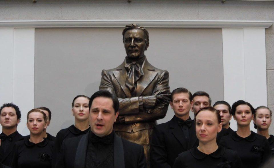 Открытие театрального музея в Казане.