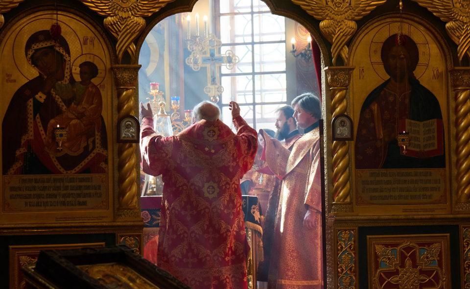 Встреча с духовниками казачьих обществ Москвы