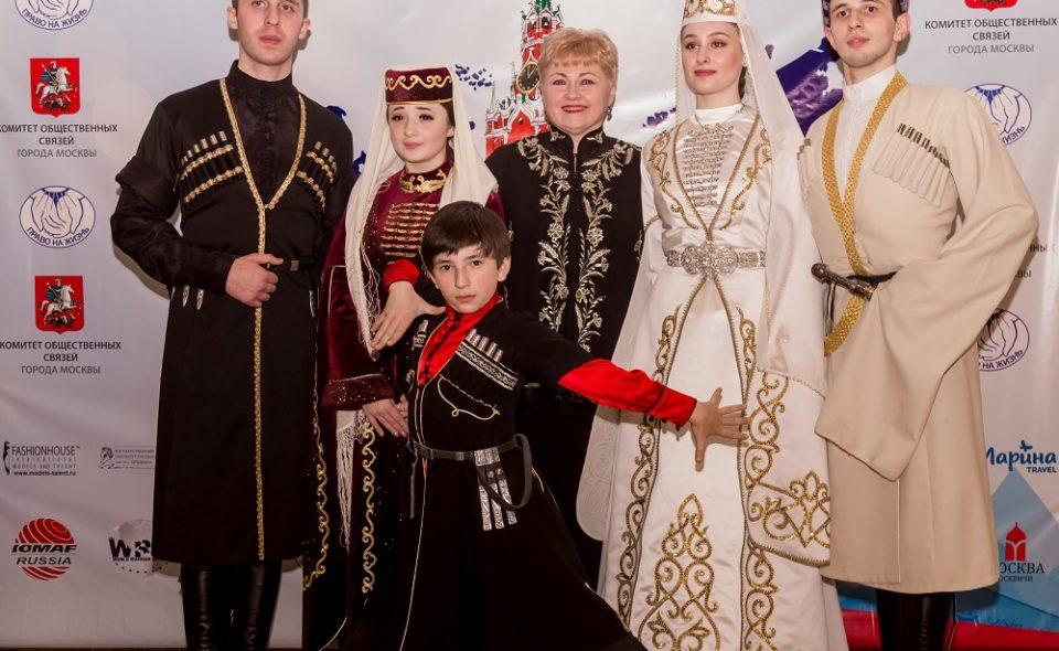 Красота национального костюма России