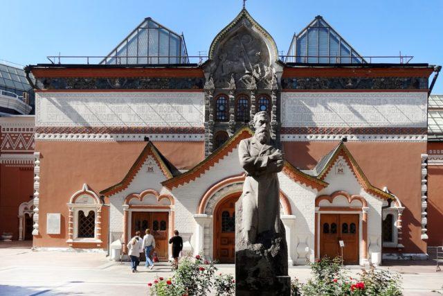 «Околополитичная» выставка в Третьяковке